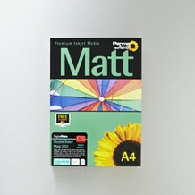 Permajet Inkjet Paper Double Sided Matt 250gsm 100 Sheets A4