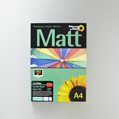 Permajet Inkjet Paper Double Sided Matt 250gsm 100 Sheets A4 | Cass Art