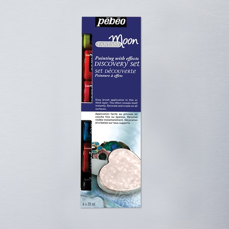 Pebeo Fantasy Moon Discovery Set of 6 20ml | Cass Art