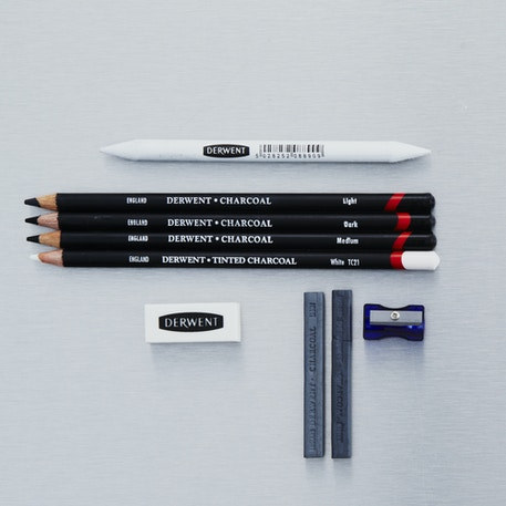 Derwent Charcoal Pencil Set | Cass Art