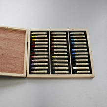 Sennelier Oil Pastel Landscape Colours in Wooden Box Set of 36