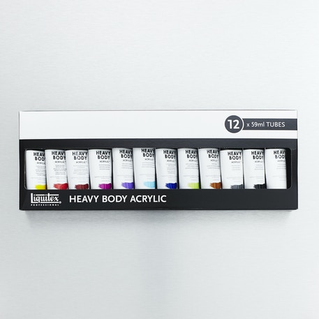 Liquitex Professional Heavy Body Classic Set of 12 59ml | Cass Art