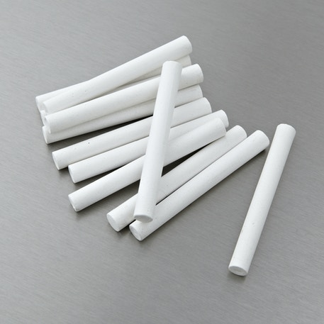 Stephens Chalk Sticks Pack of 12 White | Kids Chalk | Cass Art