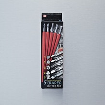 Essdee 5 Cutters & 5 Holders Scraper Cutter Set