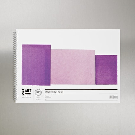 Watercolour Spiral Pad 300gsm12 Sheets | Watercolour Paper | Cass Art