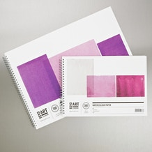 Cass Art Watercolour Spiral Pad 300gsm 12 Sheets