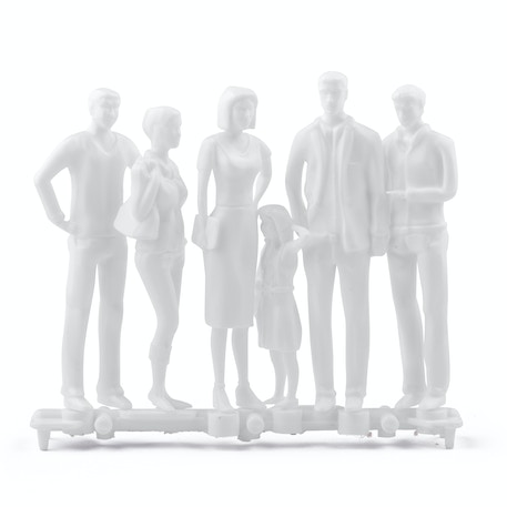 Schulcz Hermoli Figures 1:25 Pack of 6 | Cass Art