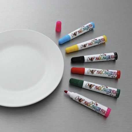 4M Create Your Own Plate Design Markers | Kids Crafts | Cass Art