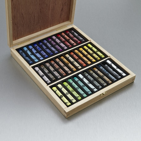 Sennelier Soft Pastel Wooden Box Set of 36 | Cass Art