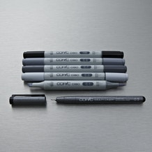 Copic Ciao Markers Grey Tones Pack of 6