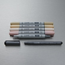 Copic Ciao Markers Skin Tones Pack of 6