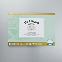Daler Rowney The Langton Prestige Not (Cold Pressed) Watercolour Block 300gsm 10 x 14 inches