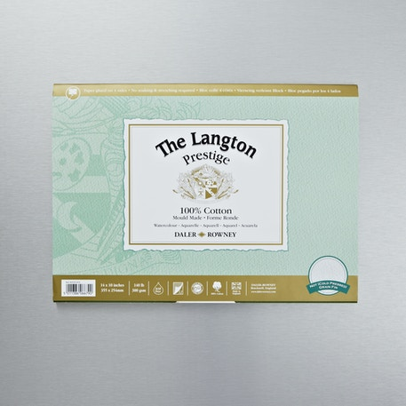 Daler Rowney The Langton Prestige Watercolour Block | Cass Art | Watercolour Paper
