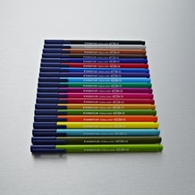 Staedtler Triplus Fibre Tipped Colour Pen Set of 20