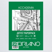 Fabriano Accademia Artist Pack 160gsm 150 sheets A4