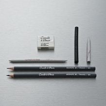 Conte a Paris Graphite Drawing Set of 6