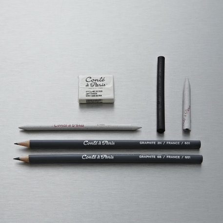 Conte a Paris Graphite Drawing Set of 6 | Cass Art