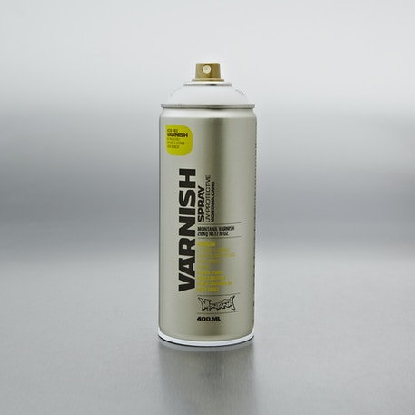 Montana Gold Tech Semi Gloss Varnish Spray 400ml | Cass Art