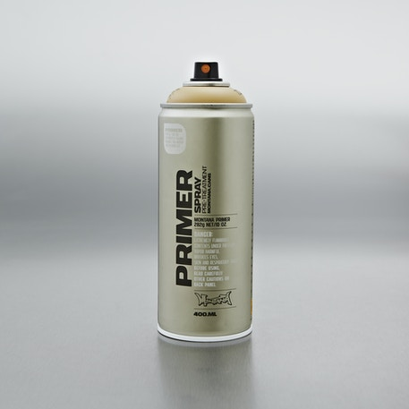 Montana Gold Tech Styrofoam Primer Spray 400ml | Cass Art