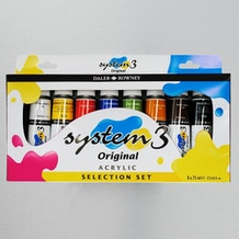 Daler Rowney System 3 Selection Set of 8 75ml