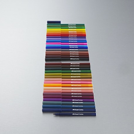 Faber-Castell Fibre Pens Set of 36 | Cass Art