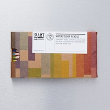 Cass Art Artists' Watercolour Pencil Set of 12