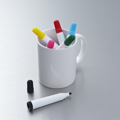 Create Your Own Mug Design Markers Set of 6 | Kids Activities