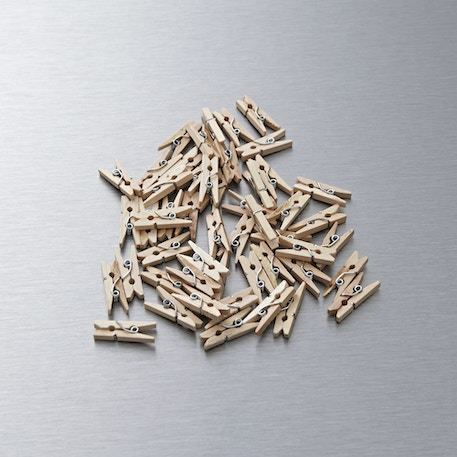 Papermania Mini Wooden Pegs Pack of 50   Cass Art