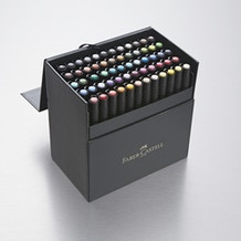 Faber-Castell Pitt Artist Pen Gift Box Set of 60