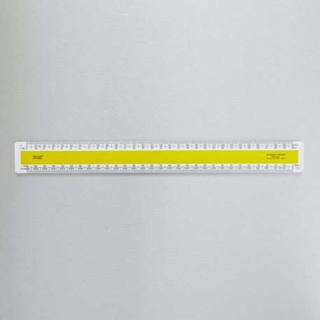 Blundell Harling Verulam Scale Ruler | Cass Art