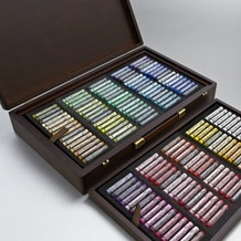 Rembrandt Soft Pastels Full Sticks Excellent Box of 225