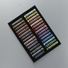 Rembrandt Soft Pastels Full Length Portrait Selection Basic Set of 30