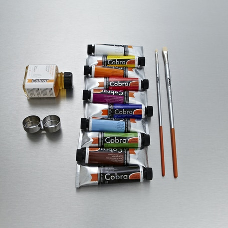 Cobra Water Mixable Oil Colour Gift Set | Artist Oil Paint | Cass Art