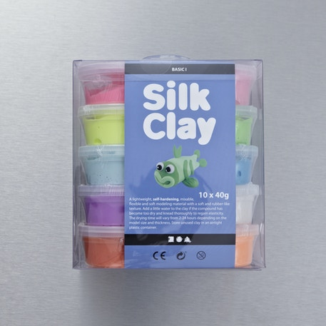 Creativ Silk Clay 40g Set of 10 | Cass Art