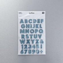 Rico Designs Silicone Alphabet and Number Stamps