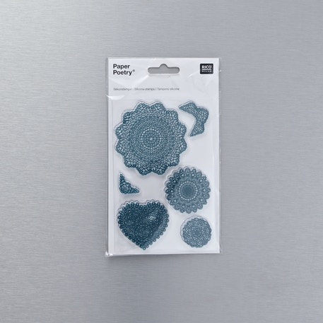 Rico Designs Silicone Stamp Doilies | Cass Art