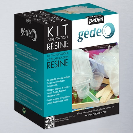 Pebeo Gedeo Resin Application Kit | Cass Art