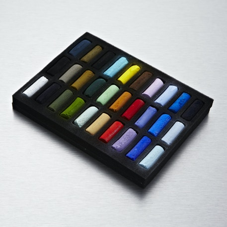 Sennelier Soft Half Pastels Set of 30 | Cass Art