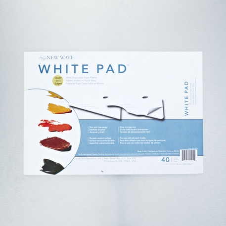 New Wave Disposable Palette Pad 28 x 40 cm White | Cass Art