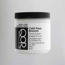 QoR Cold Pressed Watercolour Ground 237ml
