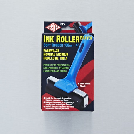 Essdee Ink Roller Brayer Soft Rubber 100mm-4'' | Cass Art