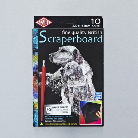 Essdee Scraperboard Painted 10 Sheets | Cass Art