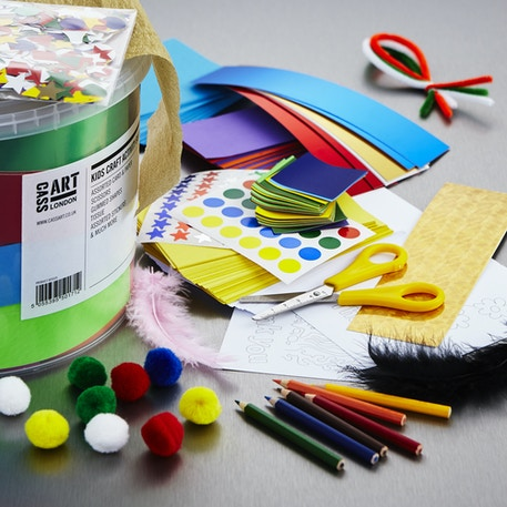 Craft Activity Bucket Set | Kids Crafts