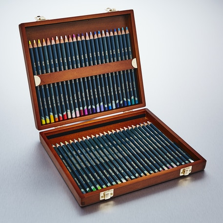 Derwent Artists Pencils Wooden Box Set of 48 | Cass Art