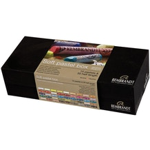 Rembrandt Soft Pastel Box 30 Half Sticks & 15 Full Sticks