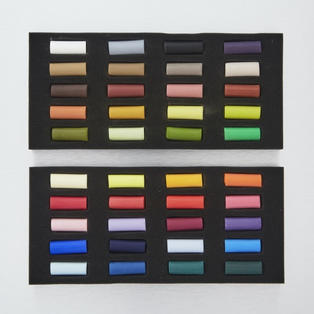 Cass Art Artists' Half Soft Pastels Set of 40 | Cass Art