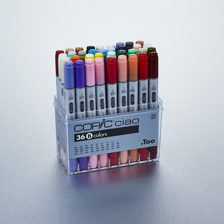 Copic Ciao Markers Set B Set of 36