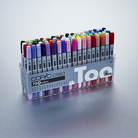 Copic Ciao Markers Set A Set of 72 | Cass Art