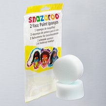 Snazaroo Face Painting High Density Sponge Pack of 2