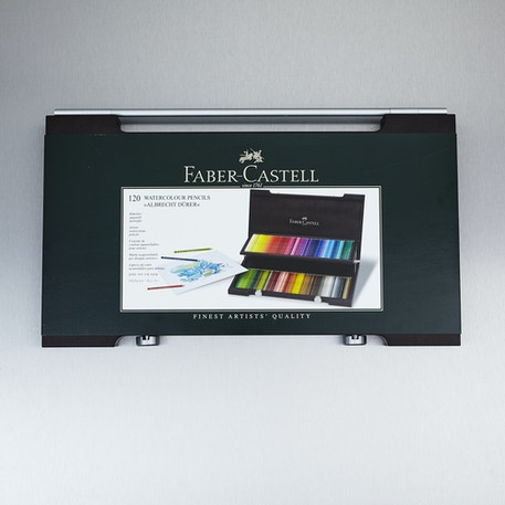 Faber-Castell Albrecht Durer Watercolour Wooden Pencil Case Set of 120 | Cass Art